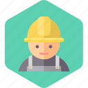 worker, construction worker icon