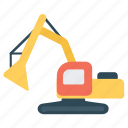 cargo, construction crane, crane lifting, crane machine, forklift icon