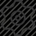 cog, gear, machine, wheel, work icon