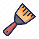 brush, construction, paintbrush, painting icon