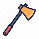 ax, construction, hatchet icon