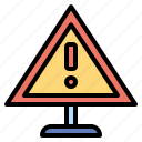 attention, error, notice, signalling, signs, warning icon