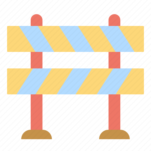 and, barrier, construction, signaling, street, tools, traffic icon