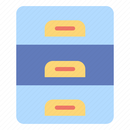 archive, document, file, material, office, storage icon