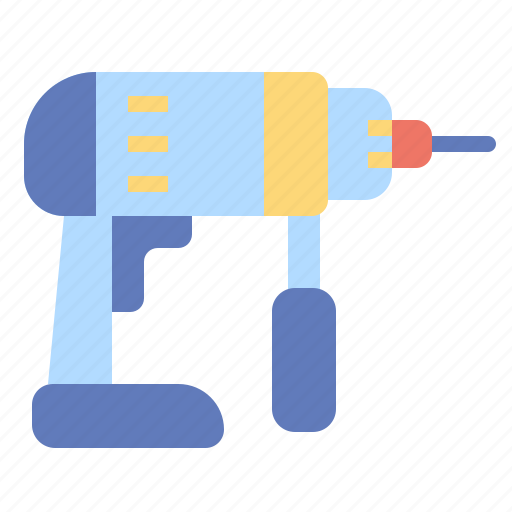 constrction, drill, driller, drilling, machine, repair, tools icon