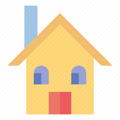 building, construction, estate, home, house, real icon
