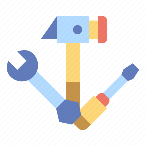 improvement, screwdriver, setting, tools, wrench icon