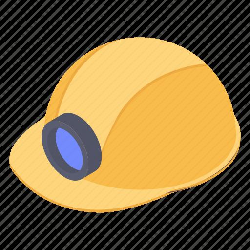 construction cap, construction helmet, hard hat, head protection, headgear, labour headwear icon