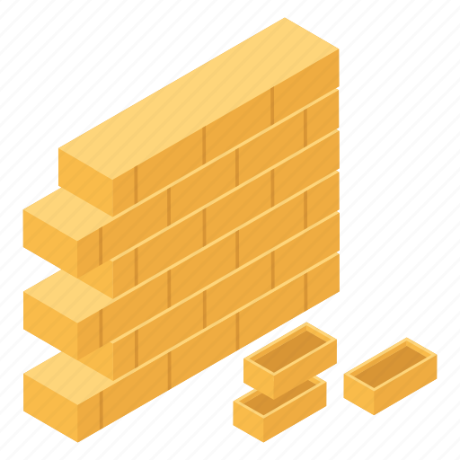 Bricks, construction site, house construction, partition, residential construction, wall construction icon - Download on Iconfinder