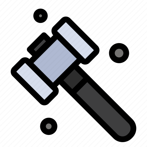 construction, hammer, tool icon