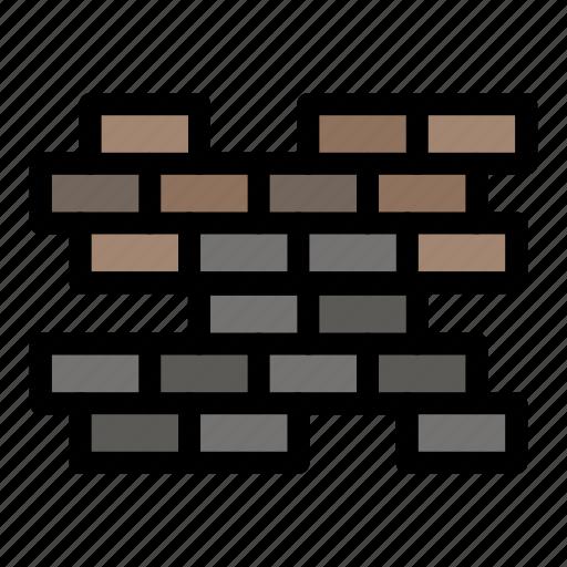 Brick, bricks, wall icon - Download on Iconfinder
