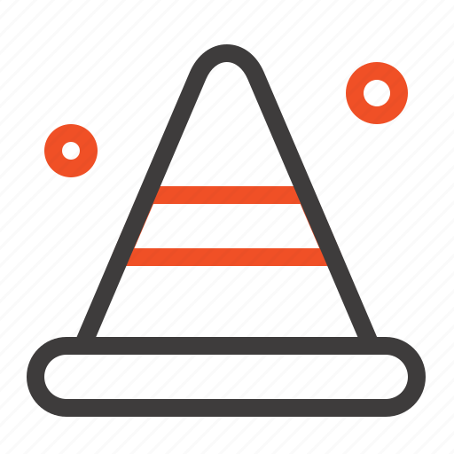 Alert, cone, construction, road icon - Download on Iconfinder