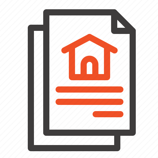 Document, file, house icon - Download on Iconfinder