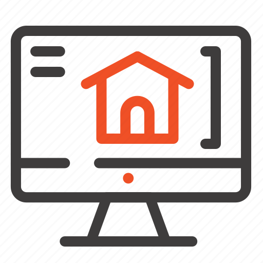 Computer, home, house icon - Download on Iconfinder