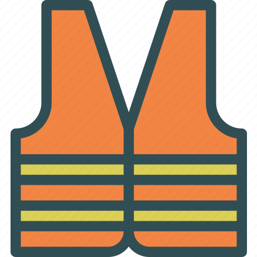 equipment, protection, workervest icon