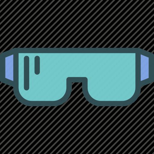 equipment, protection, workerglasses icon
