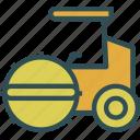 heavy, machine, road, site, transport, truck