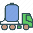 tank, transport, water