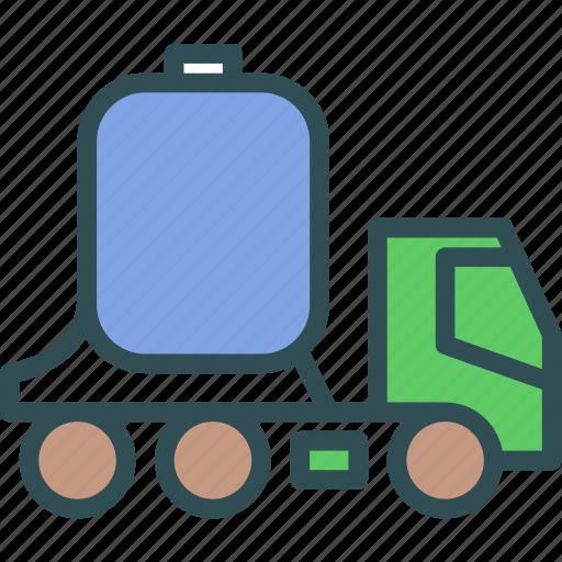 tank, transport, water icon