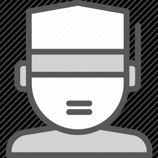 protection, shieldman, weld, worker icon