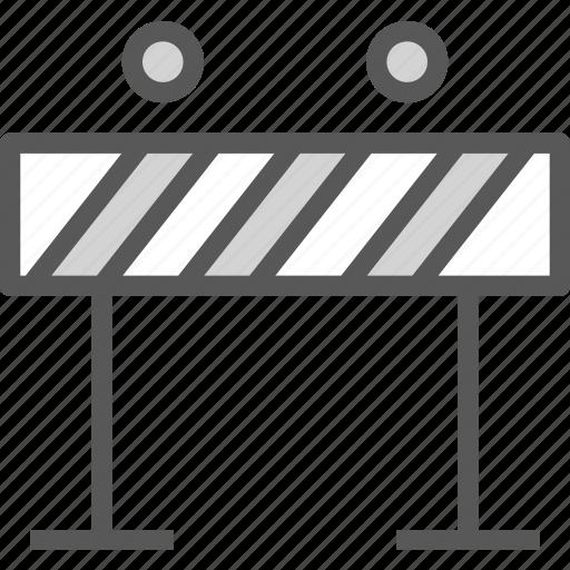 building, heavyblocklights, machine, road icon