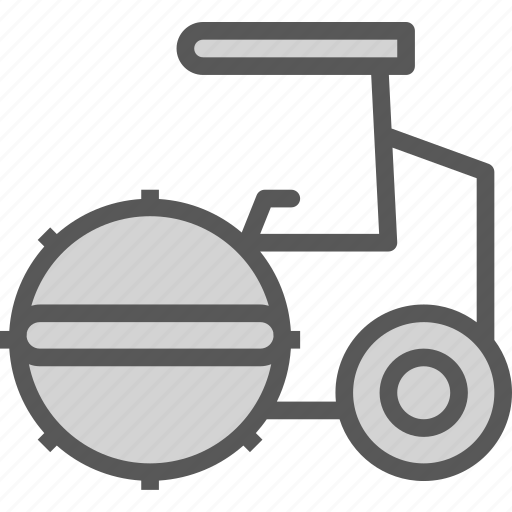 heavy, machine, road, site, transport, truck icon