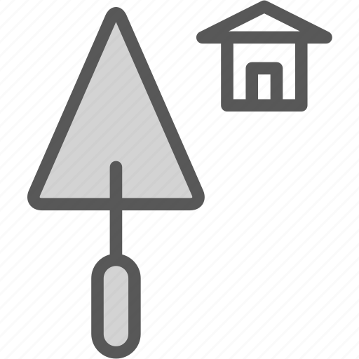builder, home, tool, towel, worker icon