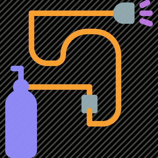 air, spray, tool icon