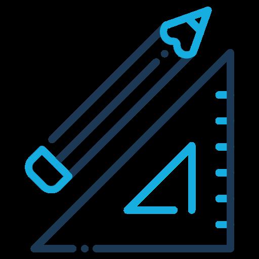building, construction, industry, measurement icon