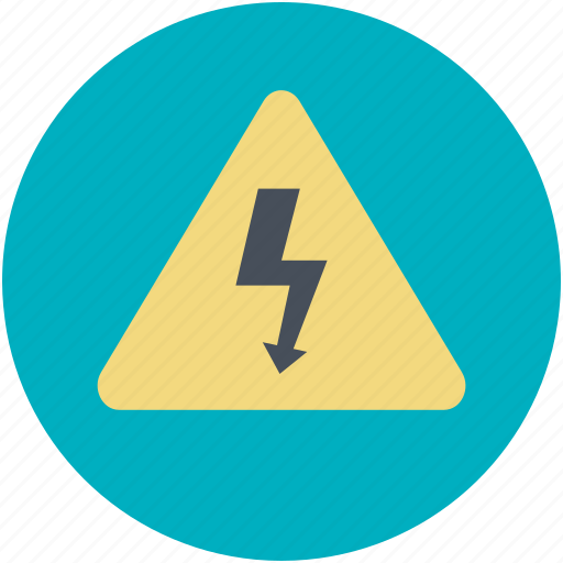 alertness, road sign, thunder alertness, thunder sign, warning sign icon