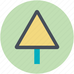 caution, risk, road sign, traffic sign, triangular sign icon