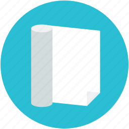 blank paper, paper, sheet, stationery, writing equipment icon