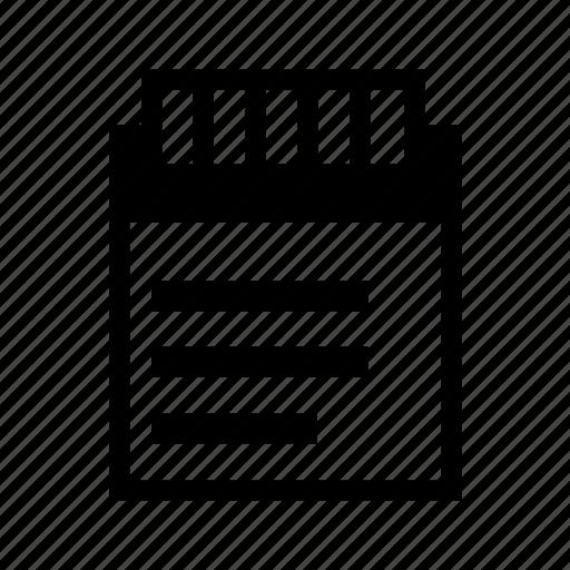 bid, document, quote, tender icon