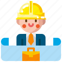 building, business, construction, estate, home, house, property icon