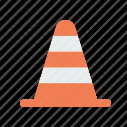 blocker, bumper, construction, road, tool icon