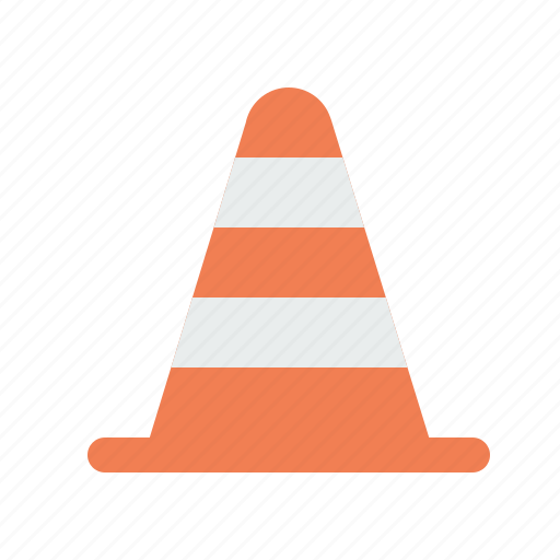 blocker, bumper, construction, road, tool icon