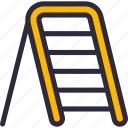 construction, household, ladder, stepladder