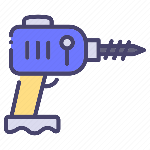 Building, construction, drill, industry icon - Download on Iconfinder