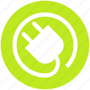 construction, electrician, electricity, plug, power plug, tool icon