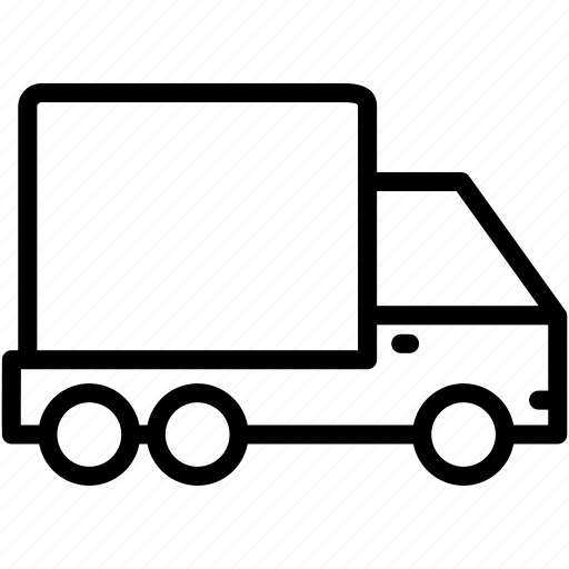 delivery, shipping, transportation, truck, vehicle icon