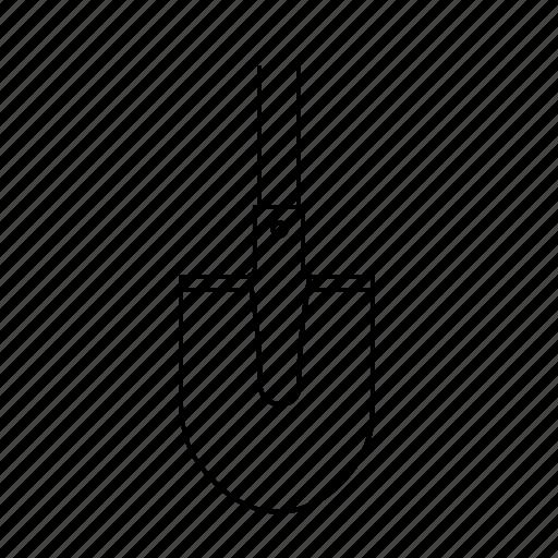 building, construction, shovel, tool icon