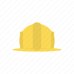 construction, hard hat, hat, hat construction, head, keeper, work icon