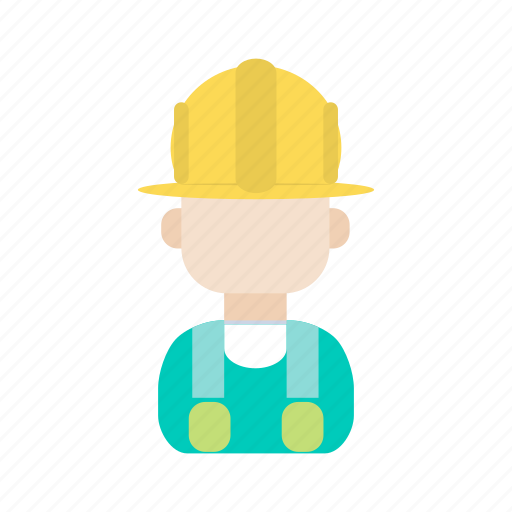 avatar, construction, engineer, person, user, worker icon