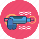caulk gun, construction tool, machine icon
