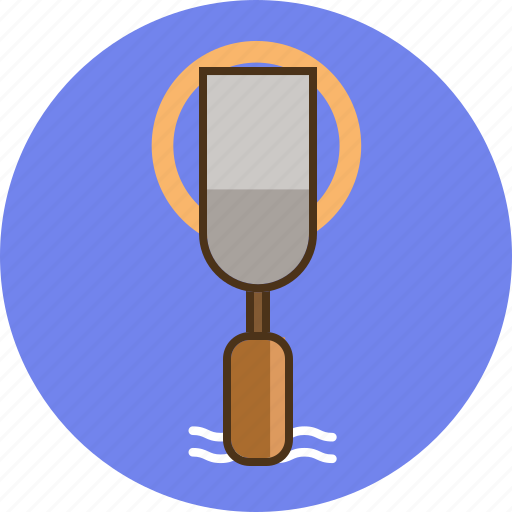 chisel, circle, construction, construction tool, equipment, tool icon
