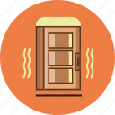 construction, door, house door icon