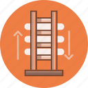 architecture, construction, estate, ladder, repair, tools, work icon