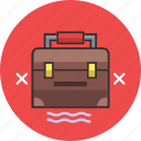 bag, cross, toolbox, box, case, suitcase, tool icon
