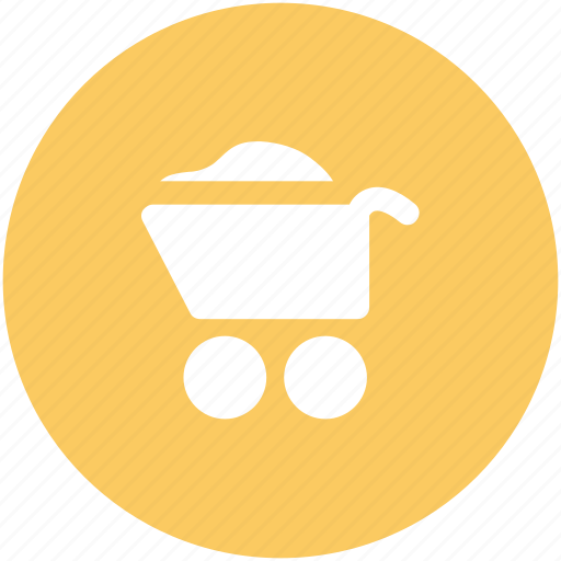 barrow, cart, garden trolley, hand cart, hand truck, trolley, wheelbarrow icon
