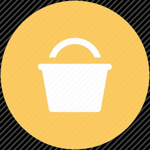 barrel, bucket, can, housework equipment, pail, pot, vessel icon